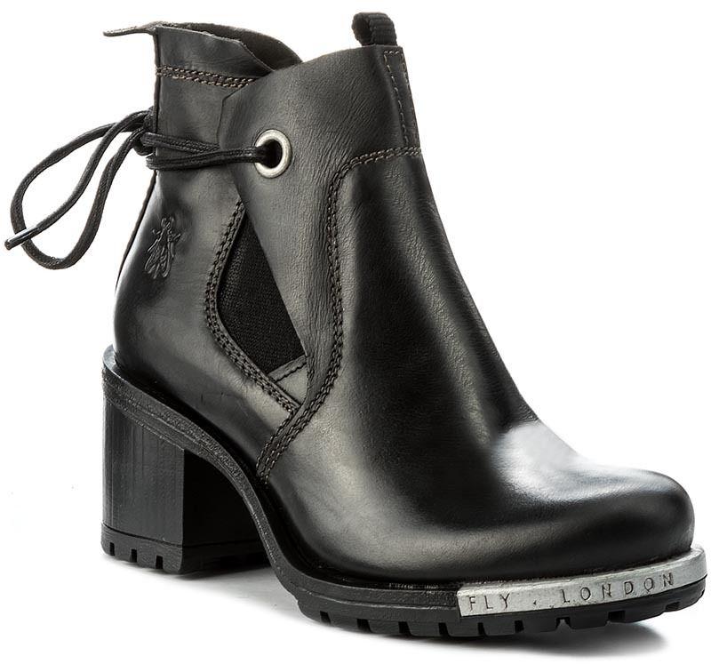 eefd1caf95e Členková obuv FLY LONDON - Luxefly P144046000 Black značky Fly London -  Lovely.sk