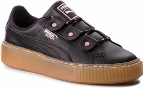 Sneakersy PUMA - Basket Platform Loops Jr 366837 01 Puma Black/Rose Gold