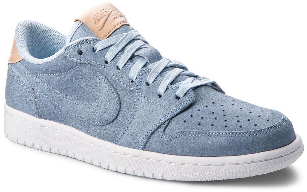34374e6c8d54e Topánky NIKE - Air Jordan 1 Retro Low Og Prem 905136 402 Ice Blue/Vachetta  Tan/White značky Nike - Lovely.sk