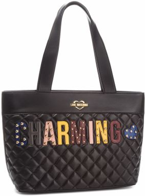 Kabelka LOVE MOSCHINO - JC4224PP06KC0000 Nero