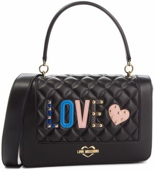 Kabelka LOVE MOSCHINO - JC4225PP06KC0000 Nero