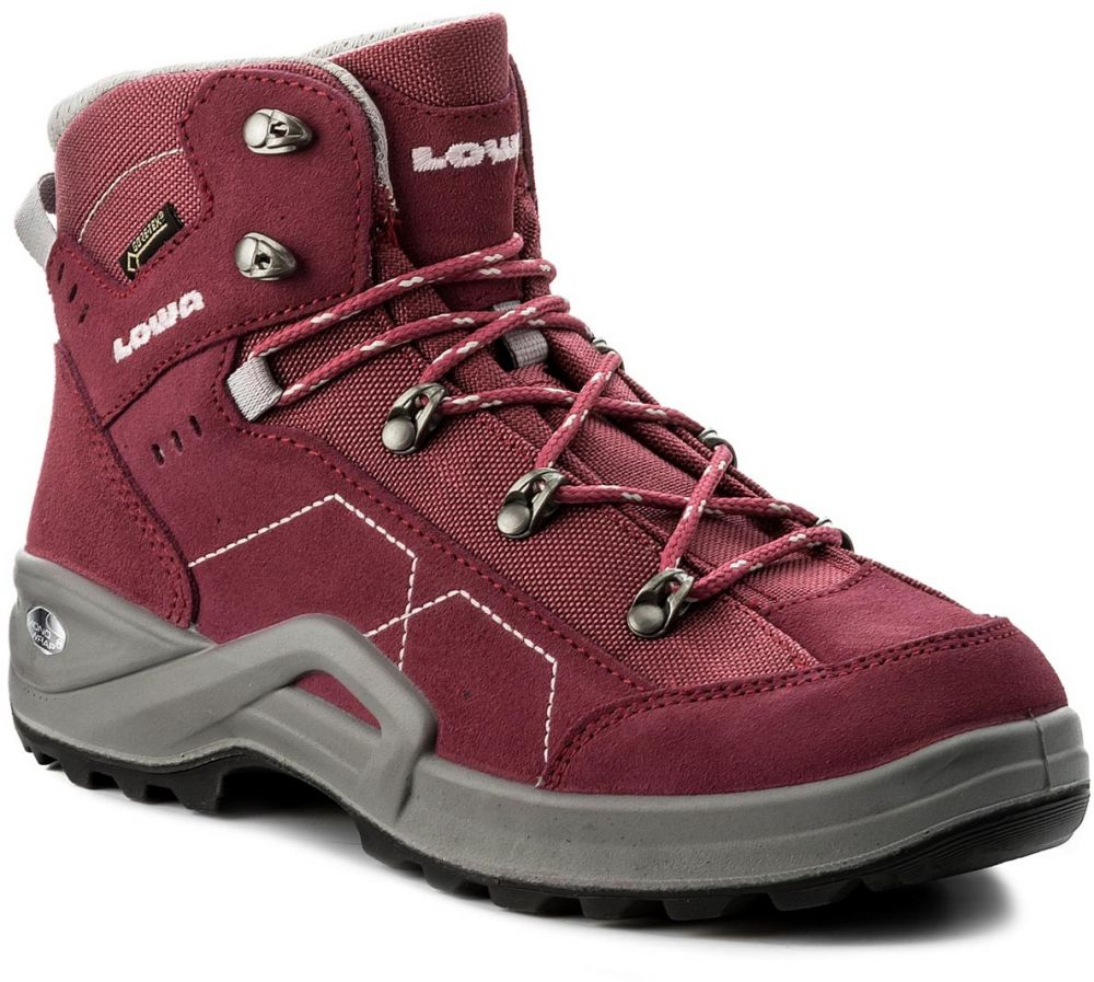 e7bb36f3b4810 Trekingová obuv LOWA - Kody III Gtx Mid Junior GORE-TEX 350099 Berry 0351