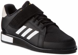 Topánky adidas - Power Perfect III BB6363 Core Black/Ftwr White/Matte Gold