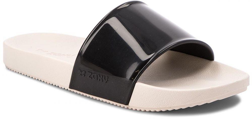 7bcfc6e27 Šľapky ZAXY - Snap Slide Fem 17333 Czarny/Biały 90679 AA285113 02064 ...