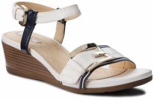 Sandále GEOX - D New Rorie B D72P3B 0PVHH C1002 Szary Biały značky ... 44e609fb12