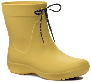 Gumáky CROCS - Freesail Shorty Rainboot 203851 Lemon