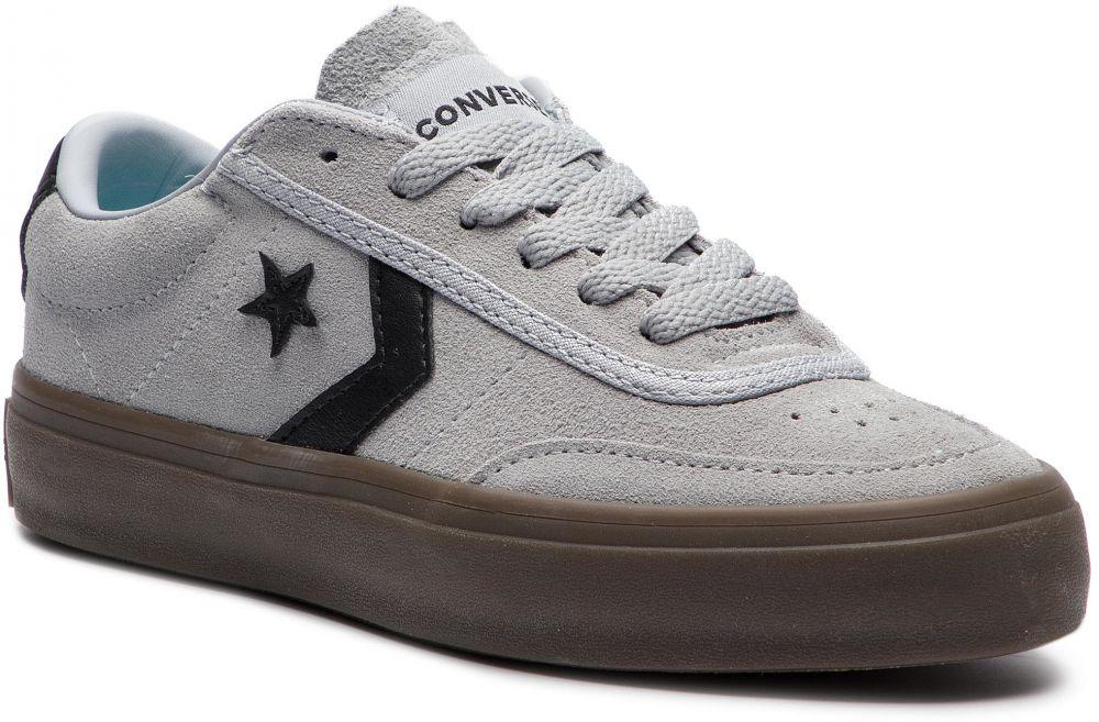 Sneakersy CONVERSE - Courtlandt Ox 162571C Wolf Grey Black Brown ... ec722165d68
