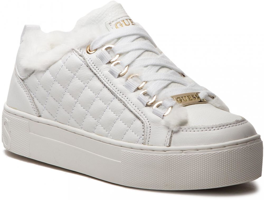 6a5c1edde3718 Sneakersy GUESS - FLMET4 LEA12 WHITE značky Guess - Lovely.sk