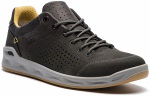 cd9a55cb08b Poltopánky LOWA - San Francisco Gtx Lo GORE-TEX 310800 Anthracite Mustard  9748