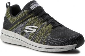 Topánky SKECHERS - In The Mix II 52615/BKLM Black/Lime