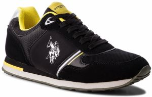 Sneakersy U.S. POLO ASSN. - Werner FLASH4132W8/SN1 Blk