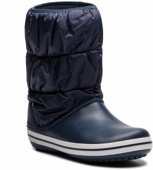 Snehule CROCS - Winter Puff Boot 14614 Navy/White