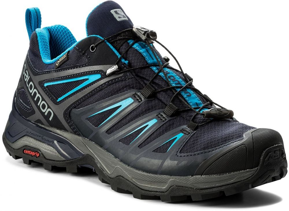 Trekingová obuv SALOMON - X Ultra 3 Gtx GORE-TEX 402423 27 W0  Graphite Night Sky Hawaiian Surf značky Salomon - Lovely.sk da6f3f2fd6