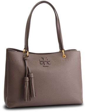 Kabelka TORY BURCH - M.Triple-Compartment Tote 49194 Silver Maple 963