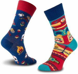Ponožky Vysoké Unisex MANY MORNINGS - Apache Tribe Farebná 5ec9c43b3d