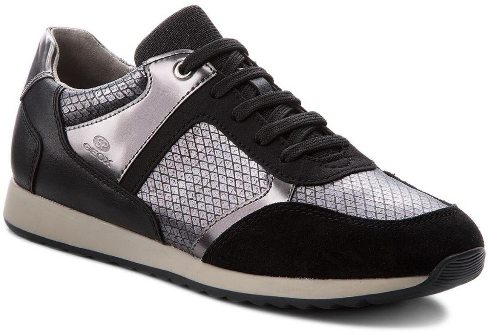 Sneakersy GEOX - D Deynna C D846FC 004AU C9999 Black značky Geox ... e22236be6b