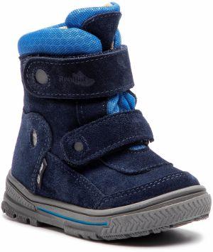 8e3d03cbd191 Ren But Chlapčenské čižmy so sťahovacím lemom - modré značky Ren But ...