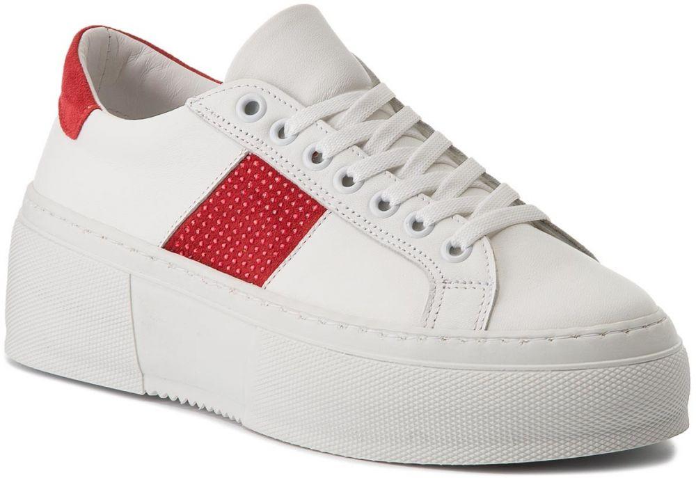 Sneakersy BRONX - 66189-A BSAHARX White Red 2065 značky Bronx ... 8709d0a965
