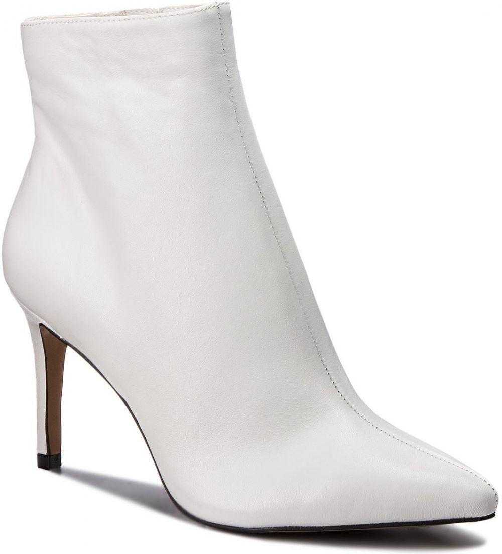 1a38c3591a51 Členková obuv STEVE MADDEN - Logic Ankle Boot SM11000195-03001-107 White  Leather značky Steve Madden - Lovely.sk