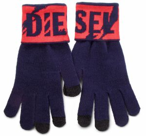 Rukavice Pánske DIESEL - K-Screex Glove 00SJ4V-0NABQ-8AT Peacoat Blue