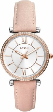 Hodinky FOSSIL - Carlie ES4484 Pink/Gold
