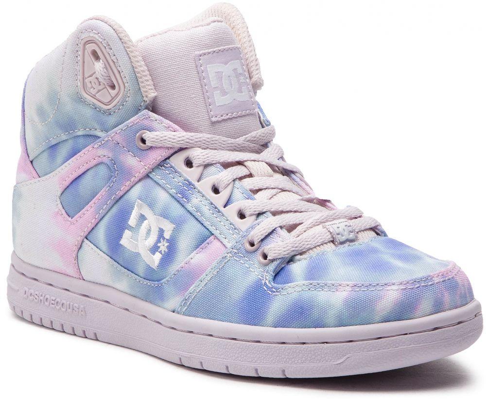 c4f111820db04 Sneakersy DC - Pure High-Top Tx Se ADJS100115 Blue/Pink (Blp) značky ...