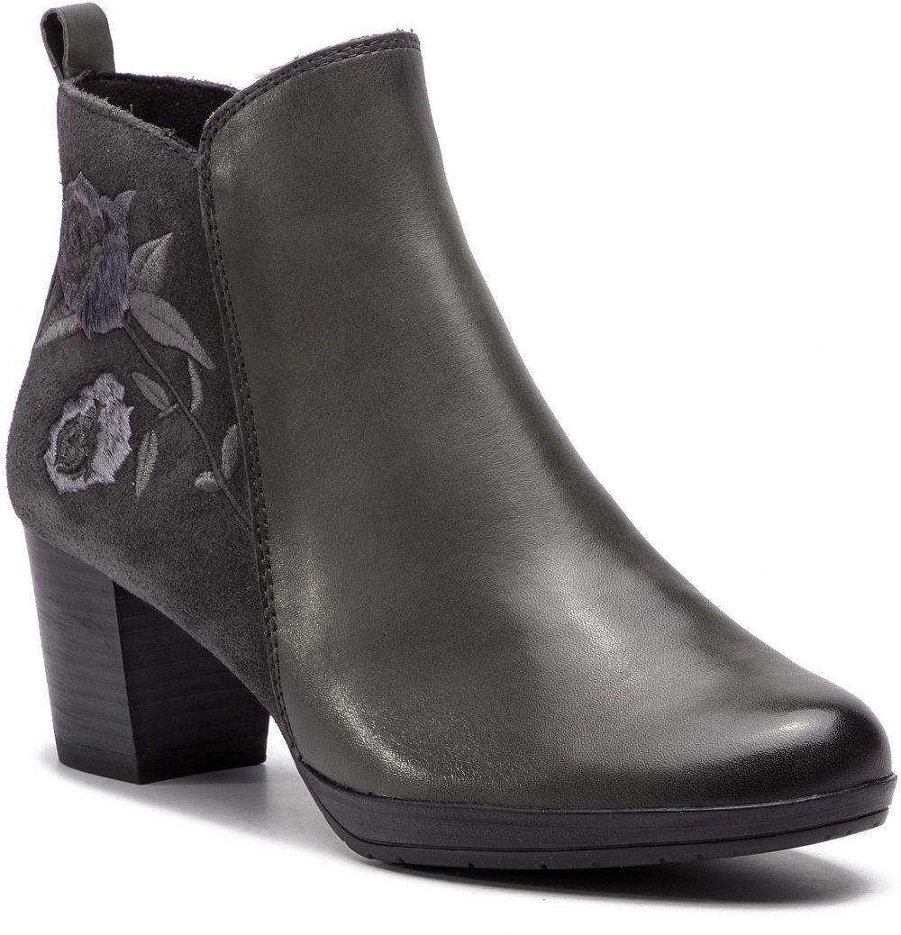 0d231f8f86b2 Členková obuv MARCO TOZZI - 2-25319-21 Dk.Grey A.Comb 226 značky ...