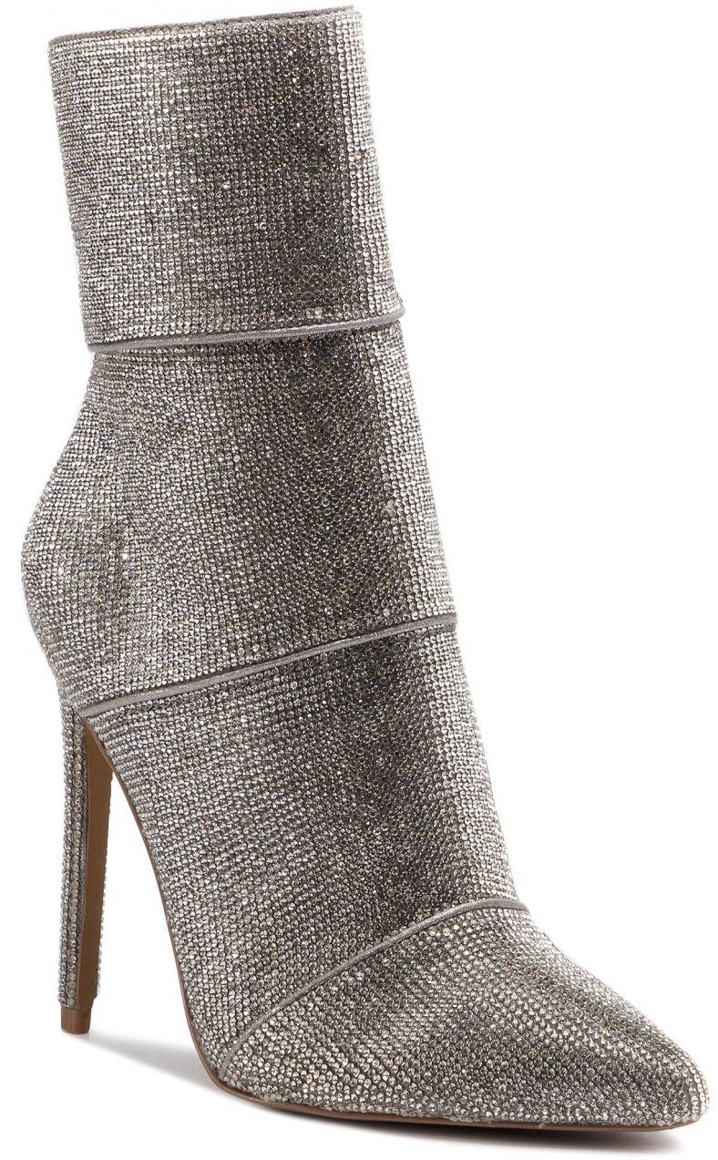 10aa1e6523f Členková obuv STEVE MADDEN - Winona Ankle Boot SM11000202-02003-998  Rhinestone značky Steve Madden - Lovely.sk