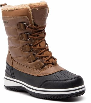 Snehule ELBRUS - Hallis Mid Wp Wo's Brown/Black