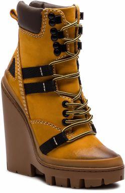 Členková obuv DIESEL - D-Vibe Mb Y01813 P0548 T3061 Sunflower 6170cff09d4