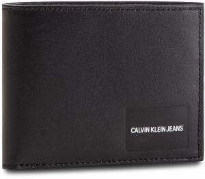 Veľká Peňaženka Pánska CALVIN KLEIN JEANS - Coated Canvas Billfold W Coin  K40K400836 001 969d34d8a84