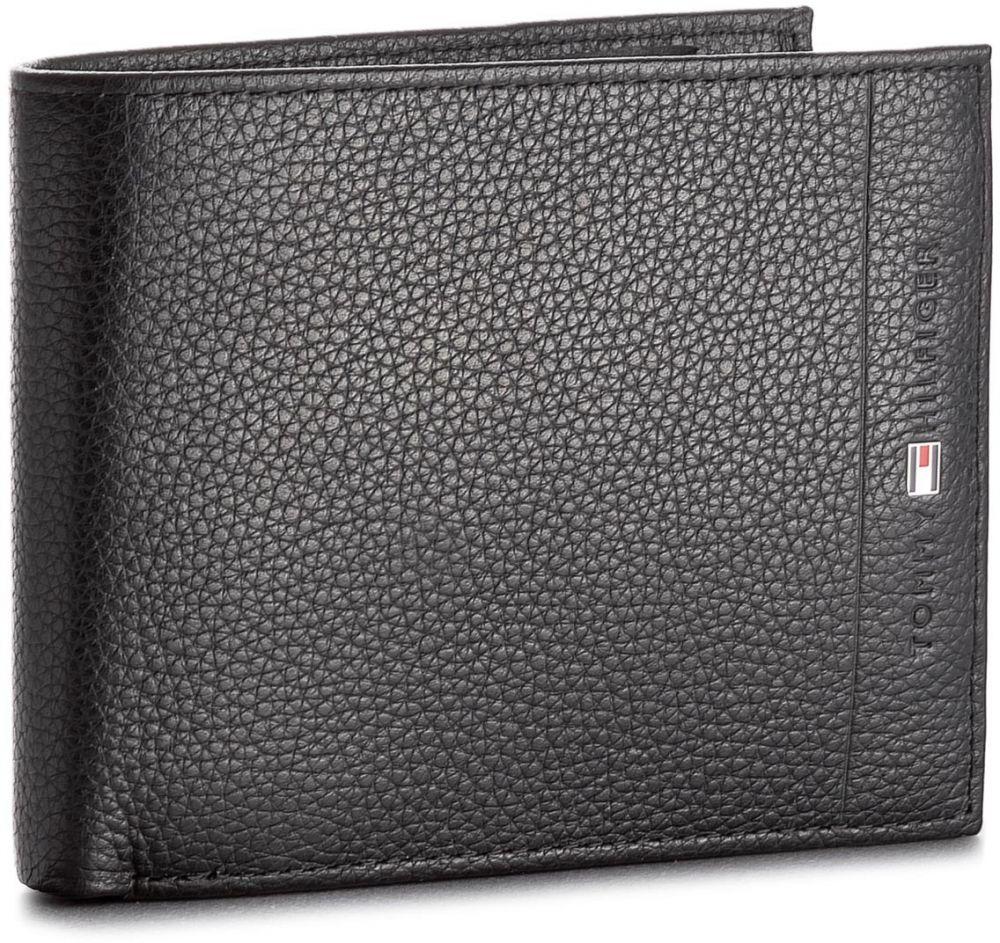 43bbc1fbf Veľká Peňaženka Pánska TOMMY HILFIGER - Core Cc Flap & Coin AM0AM02398 002