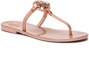 Žabky TORY BURCH - Mini Miller Flat Thong 51148678 Rose Gold 654