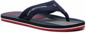 Žabky TOMMY HILFIGER - Striped Footbed Beach Sandal FM0FM01933 Midnight 403