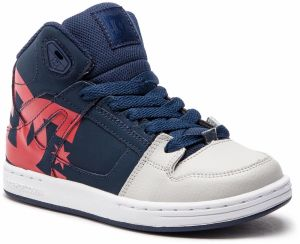 Sneakersy DC - Pure High-Top Sp ADBS100258 Navy/Grey (Ngh)