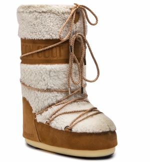 Snehule MOON BOOT - Wool 14024400001 White