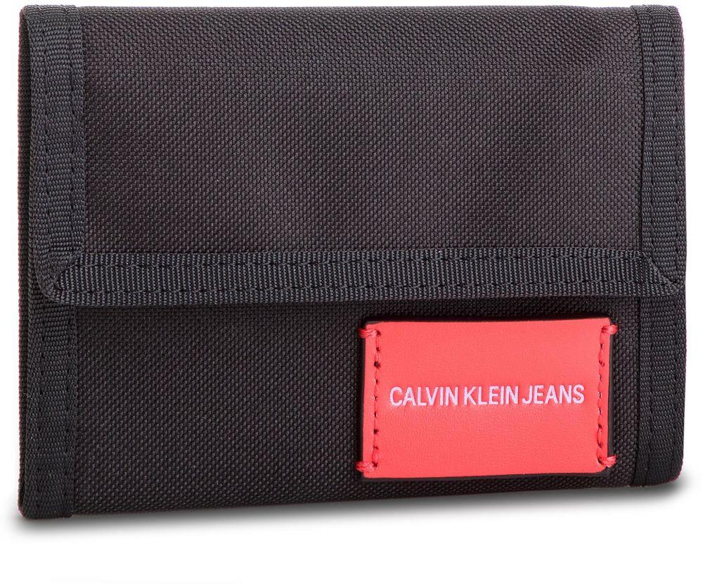5a0ecfbec Veľká Peňaženka Pánska CALVIN KLEIN JEANS - Sp Essential + Canvas Billfold  K40K400841 001