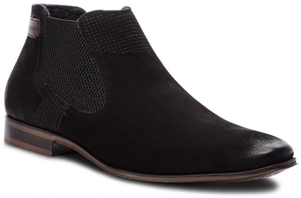 abdb8d5d6c Kotníková obuv s elastickým prvkom BUGATTI - 311-10130-3500-1000 Black  značky bugatti - Lovely.sk