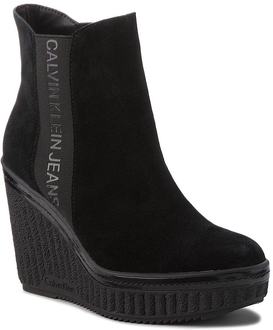 d83d25968 Členková obuv CALVIN KLEIN JEANS - Shanna RE9765 Black značky Calvin Klein  Jeans - Lovely.sk