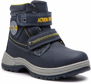 Čižmy ACTION BOY - CP40-7987J-1 Navy