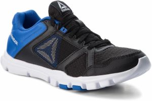 Topánky Reebok - Yourflex Train 10 Mt CN5650 Black/Vital Blue/White