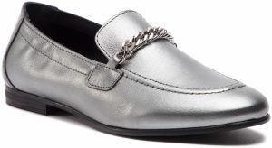 Lordsy TOMMY HILFIGER - Rubberized Chain Heeled Sandal FW0FW03891 Light  Silver 016 3128de9ee35