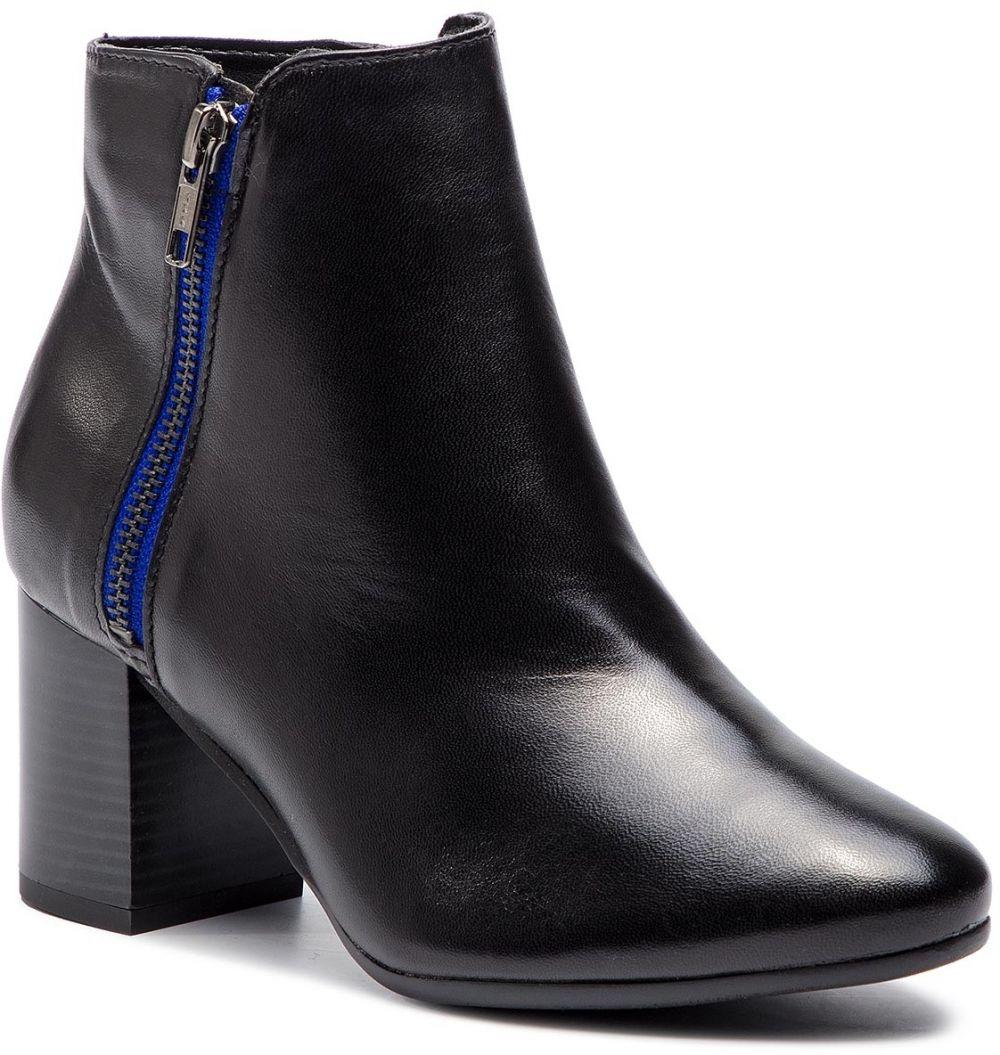d839e0ad4 Členková obuv TAMARIS - 1-25053-31 Black/Blue 084 značky Tamaris ...