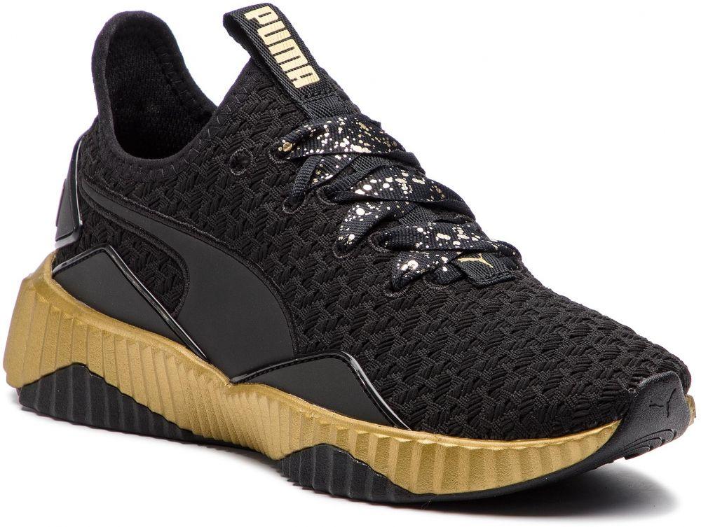 Sneakersy PUMA - Puma Defy Sparkle Wn s 191585 02 Puma Black Puma Team Gold  značky Puma - Lovely.sk d5495760086
