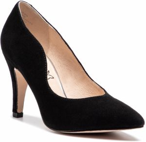 Poltopánky CAPRICE - 9-22412-22 Black Suede 004