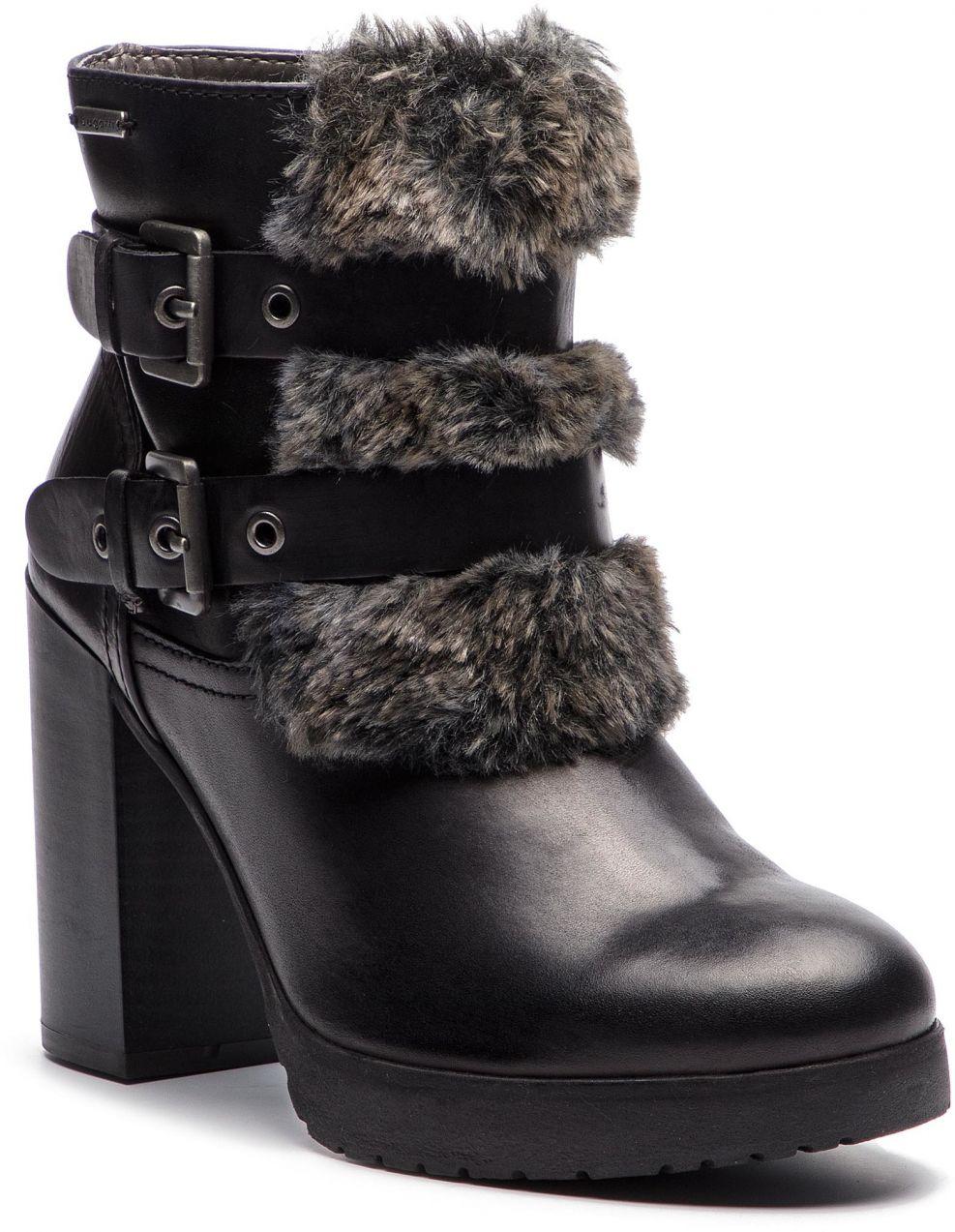 d5545f2c7 Členková obuv BUGATTI - 411-55931-1069-1011 Black/Dark Grey značky ...