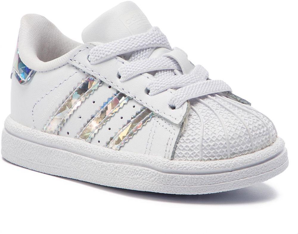 a91399166f3cf Topánky adidas - Superstar El I CG6707 Ftwwht/Ftwwht/Ftwwht značky ...