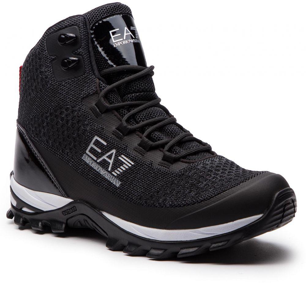 cdd9ebf859 Outdoorová obuv EA7 EMPORIO ARMANI - X8Z010 XK045 00002 Black značky ...