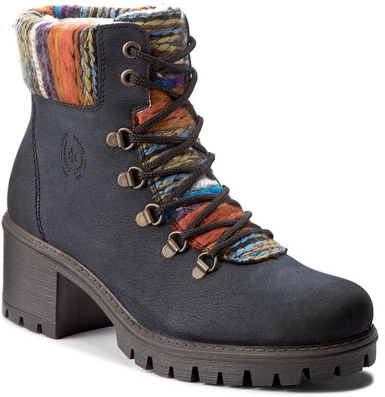 b7748d6116 Členková obuv RIEKER - Y8643-15 Blue Combination značky RIEKER - Lovely.sk