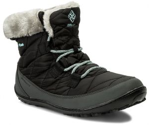 Snehule COLUMBIA - Youth Minx Shorty Omni-Heat Waterproof BY1334 Black/Sparay 010